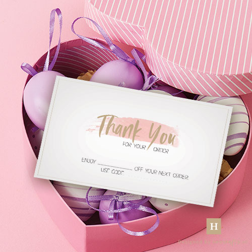 Howcrafts Thank You Cards